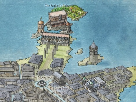 Coolest Game of Thrones-themed maps